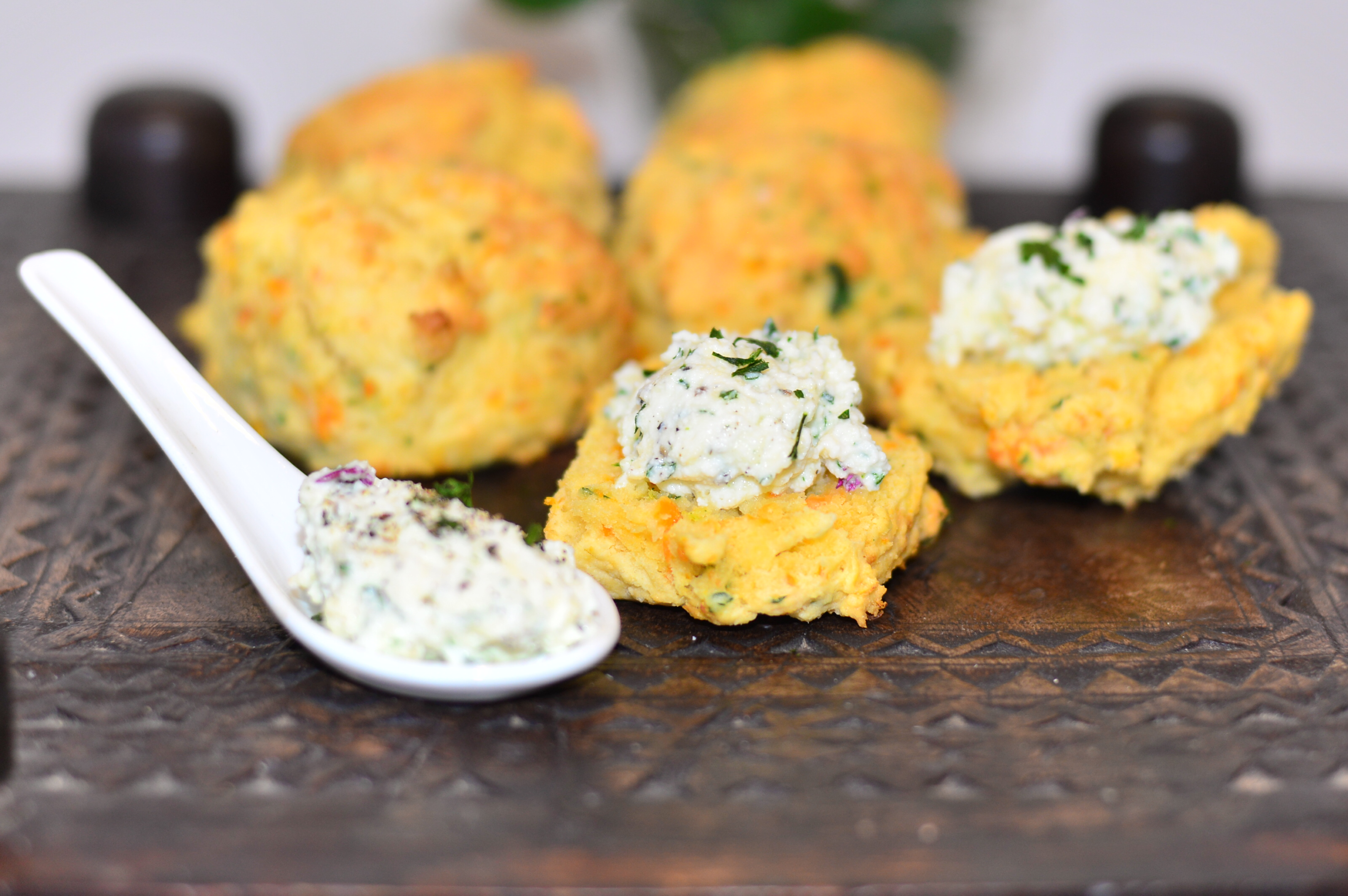 MOTHER'S DAY Pumpkin, Parsley & Parmesan Scones