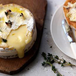 Gorgeous baked cheese