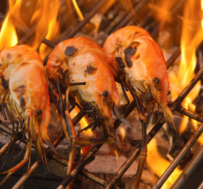 Giant Tiger Prawns with Peri Peri