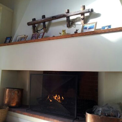 What a wonderful place…welcome to my very cosy fireplace in Franschoek, Cape Town